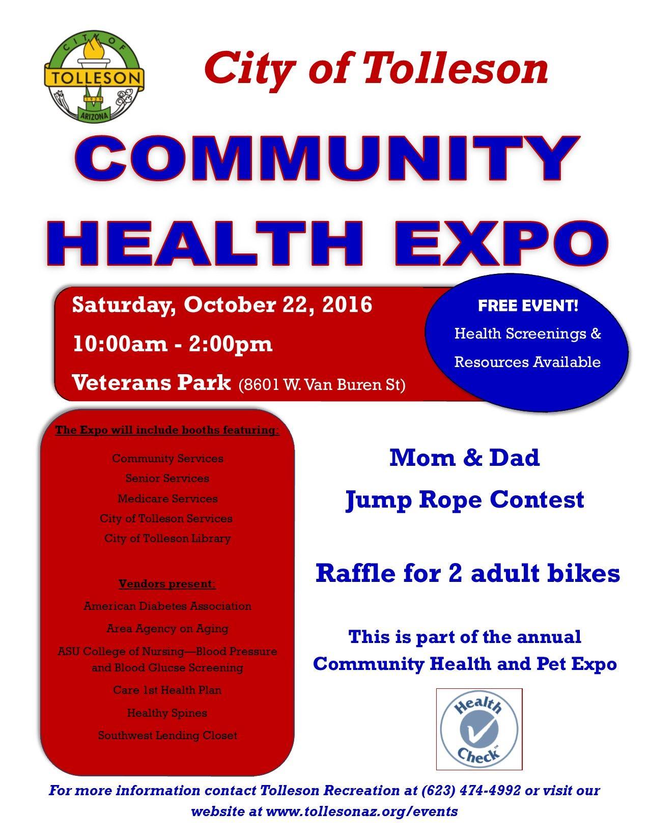 Health Expo Flyer 2016