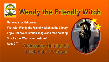 WendyTheWitch - Library Event 2016