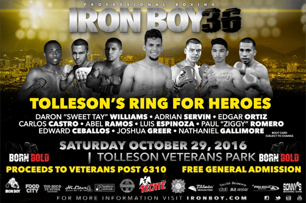 Iron Boy Promotions Flyer - Oct 29 2016