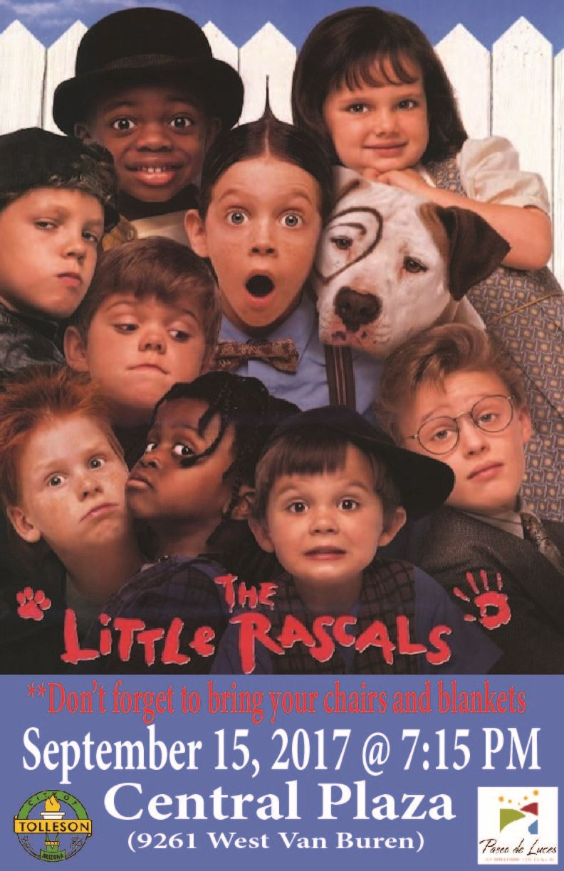 Movies at Central Plaza - Little Rascals - September 15, 2017