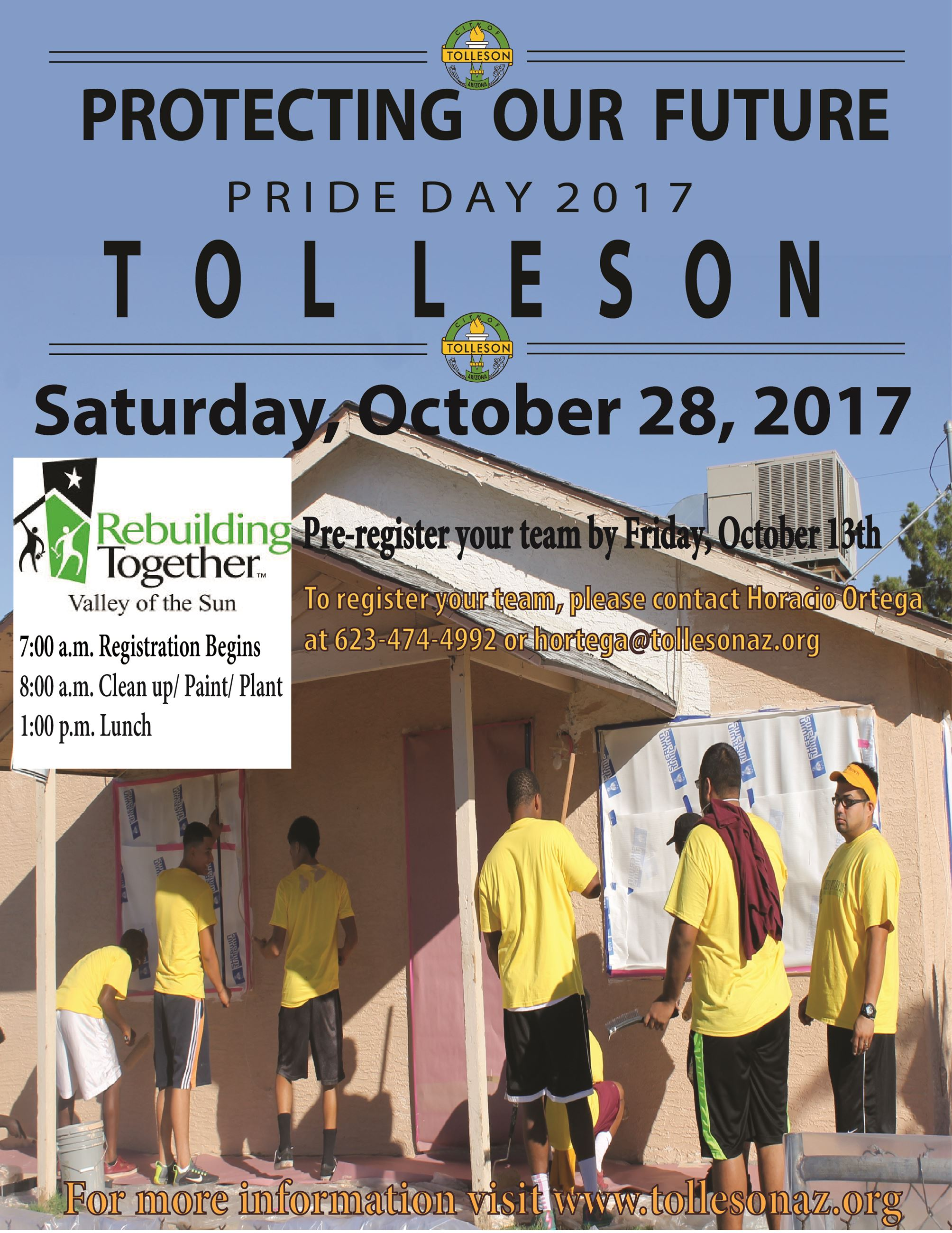 Pride Day Clean up Flyer