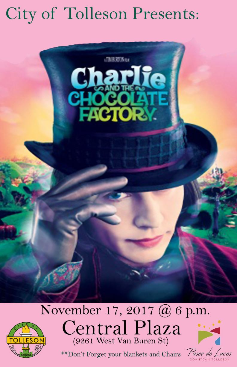 Charlie and the Chocolate Factory Nov 2017