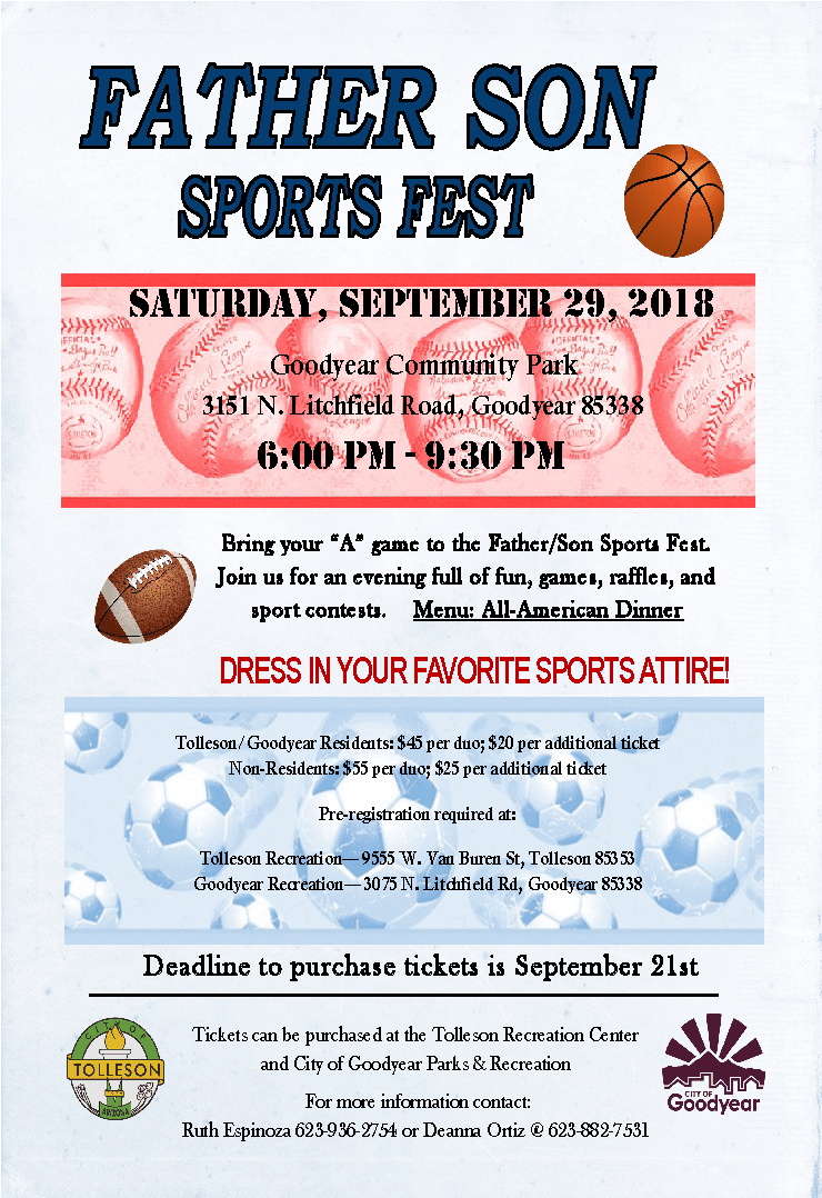 Father Son Sports Fest Flyer Sept2018