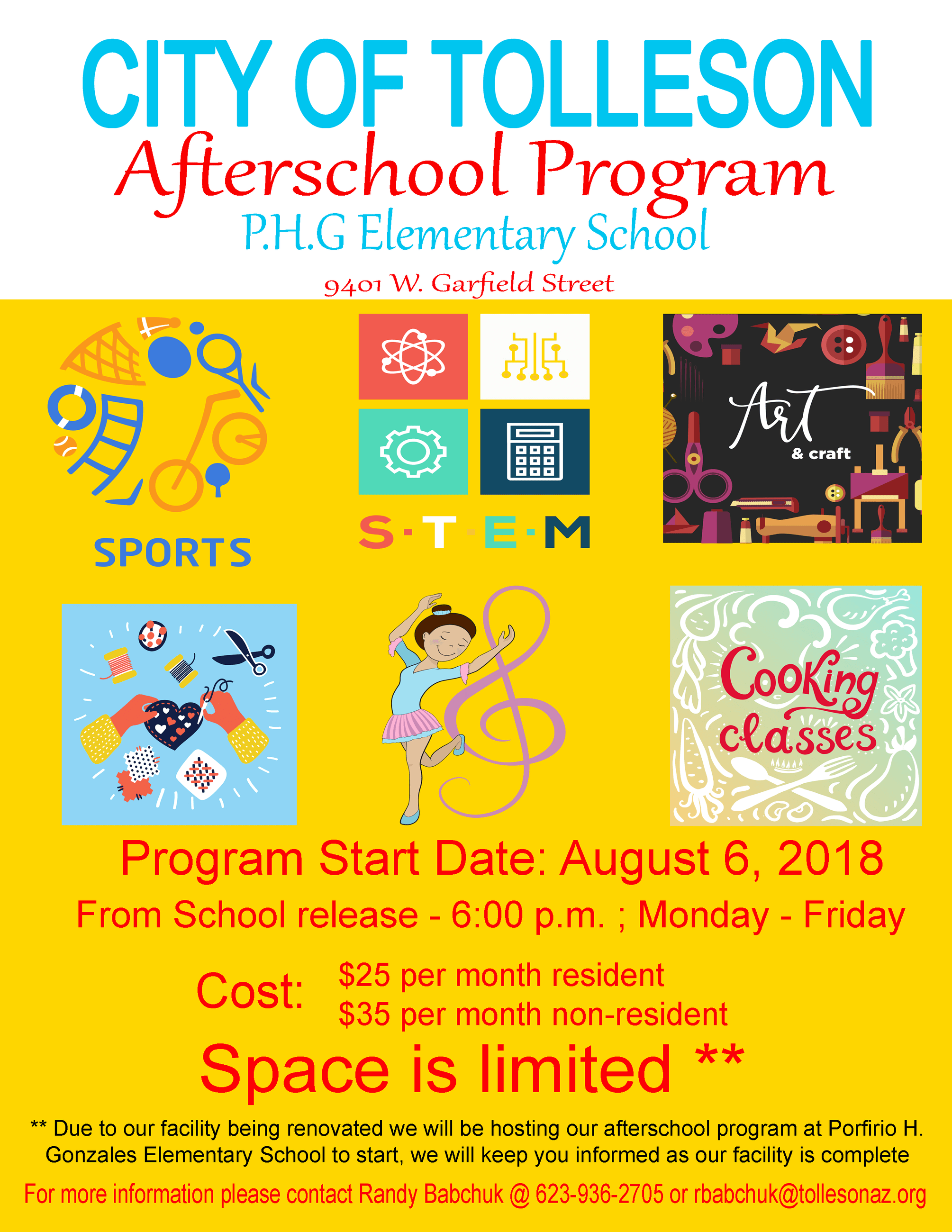 2018 afterschool flyer