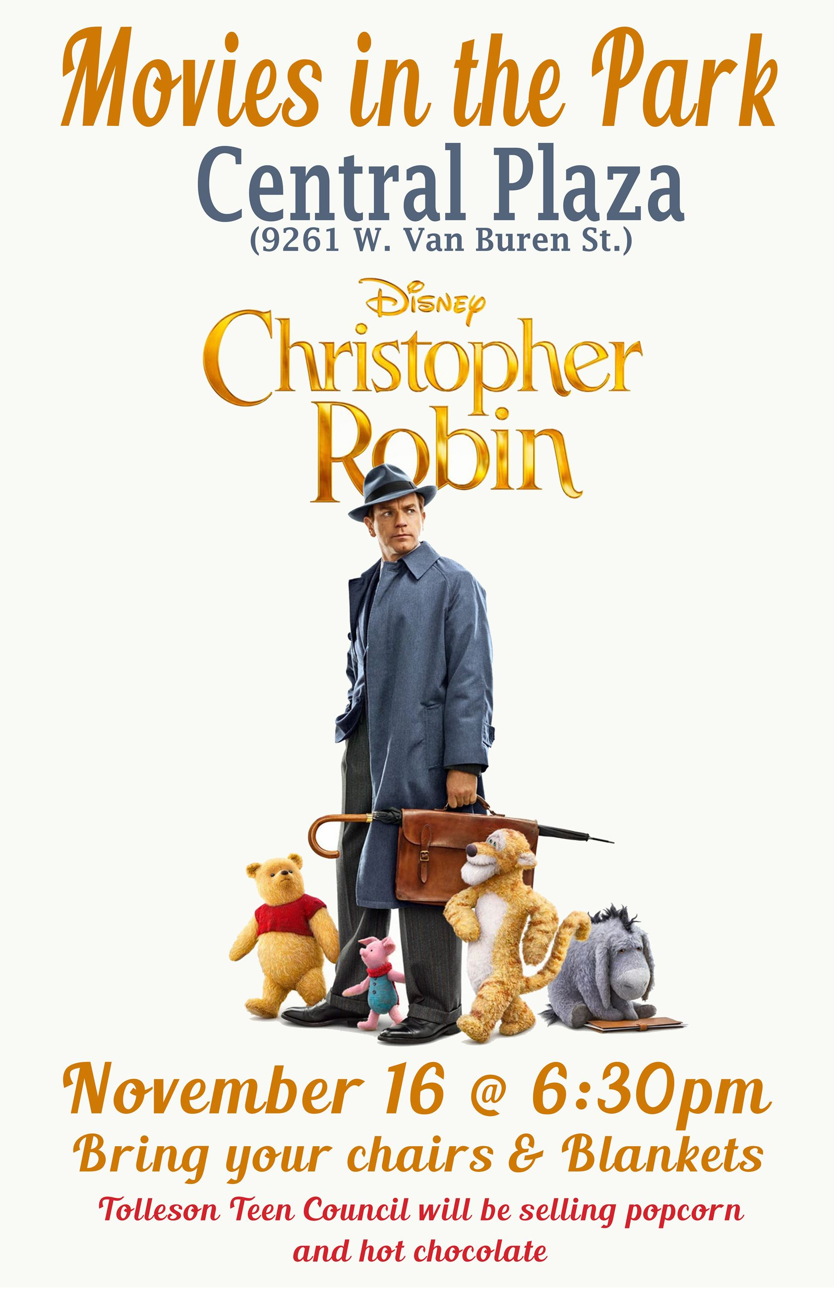 Movie at Central Plaza - Christopher Robin