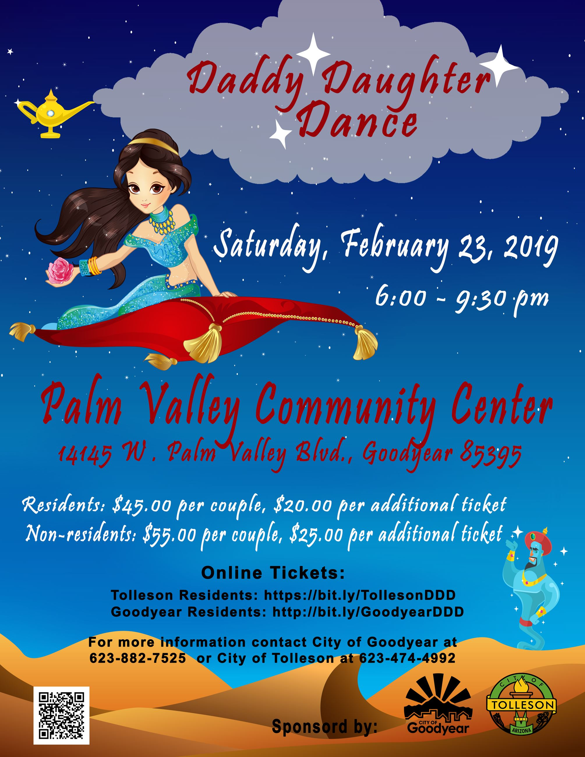 Daddy Daughter Dance Flyer 2019