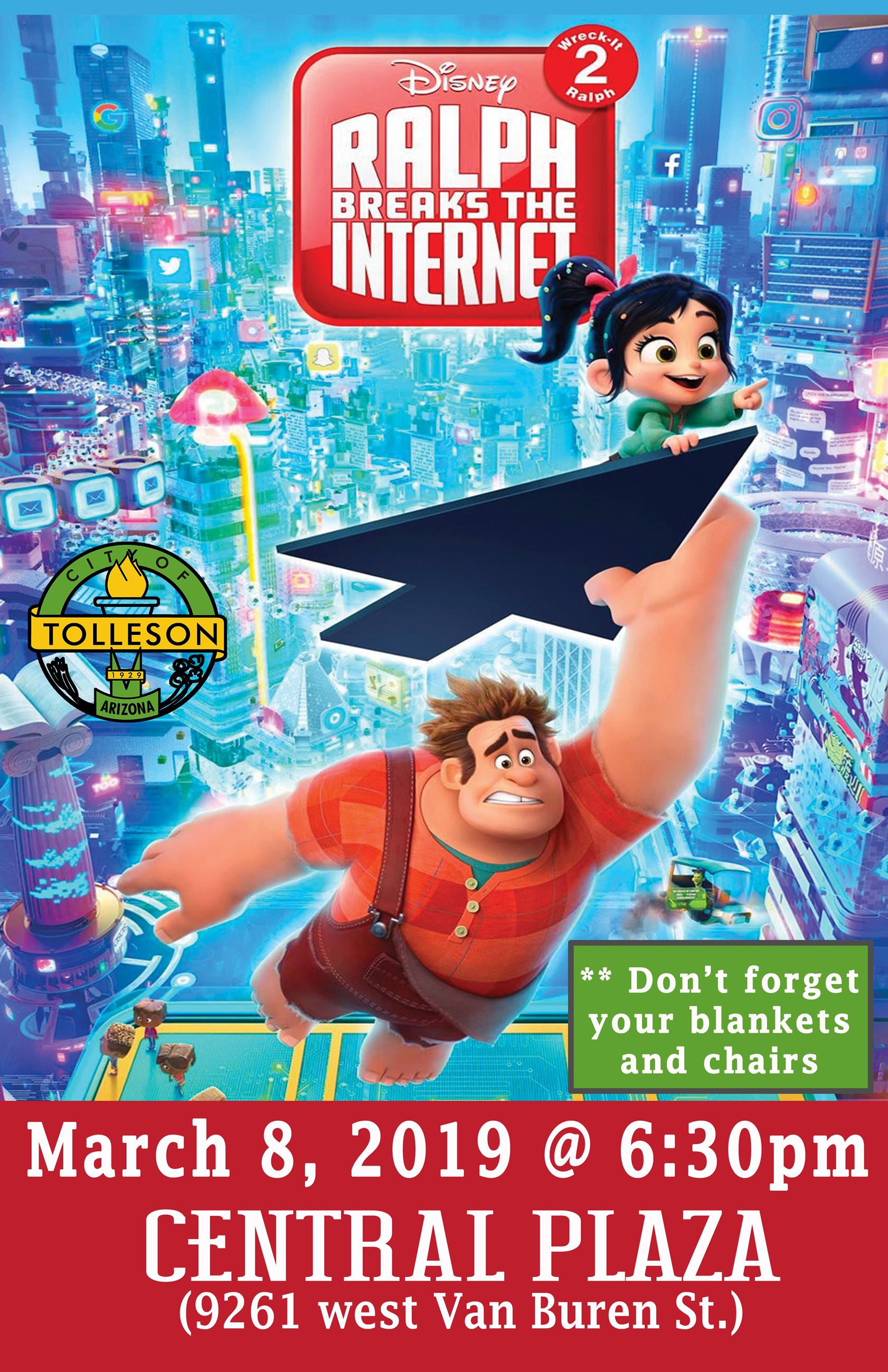 Ralph breaks the Internet 2019 - Movie Poster