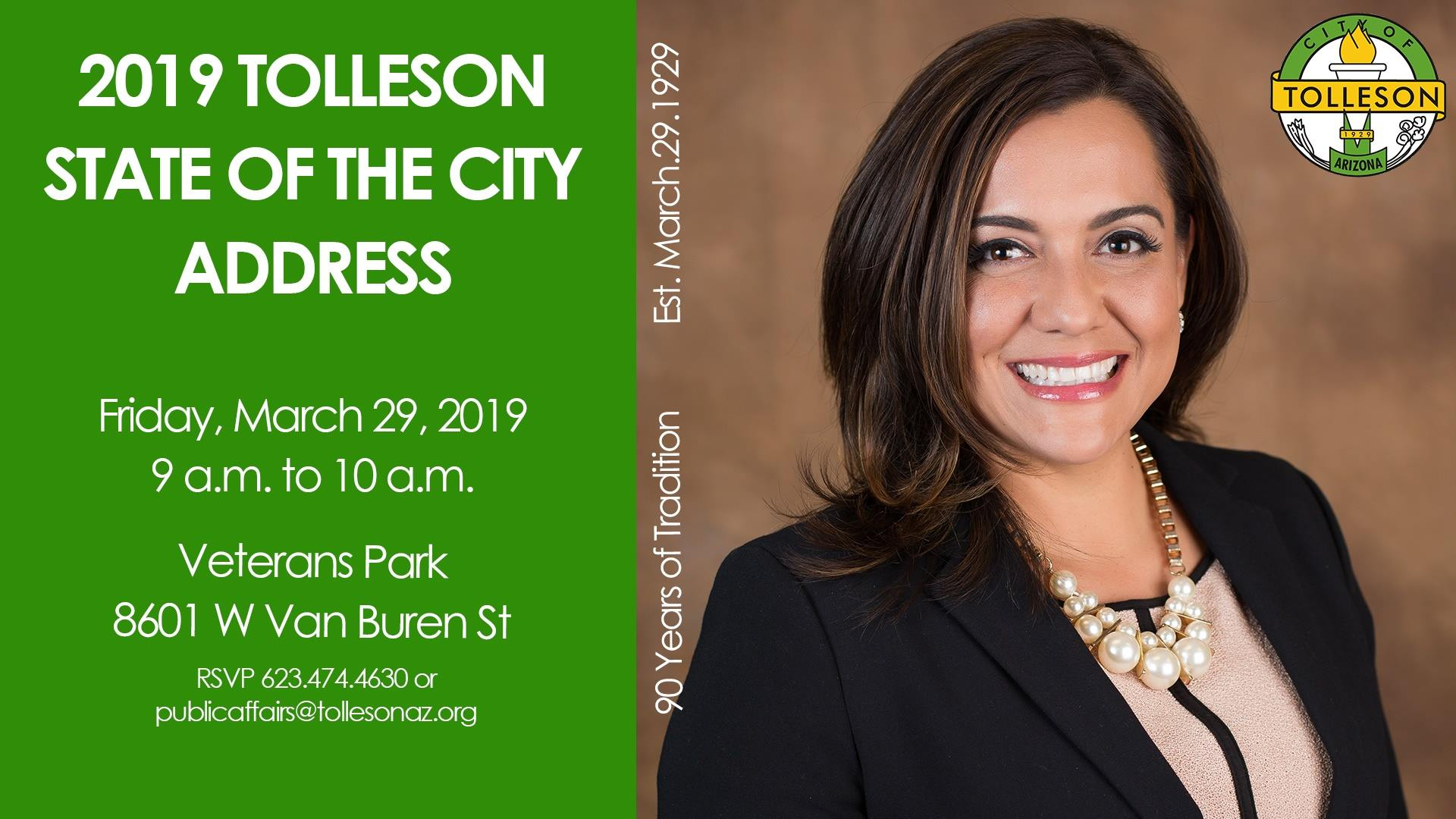 Tolleson State of the City Address 2019
