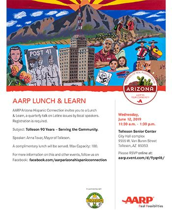 AARP Lunch and Learn 2019