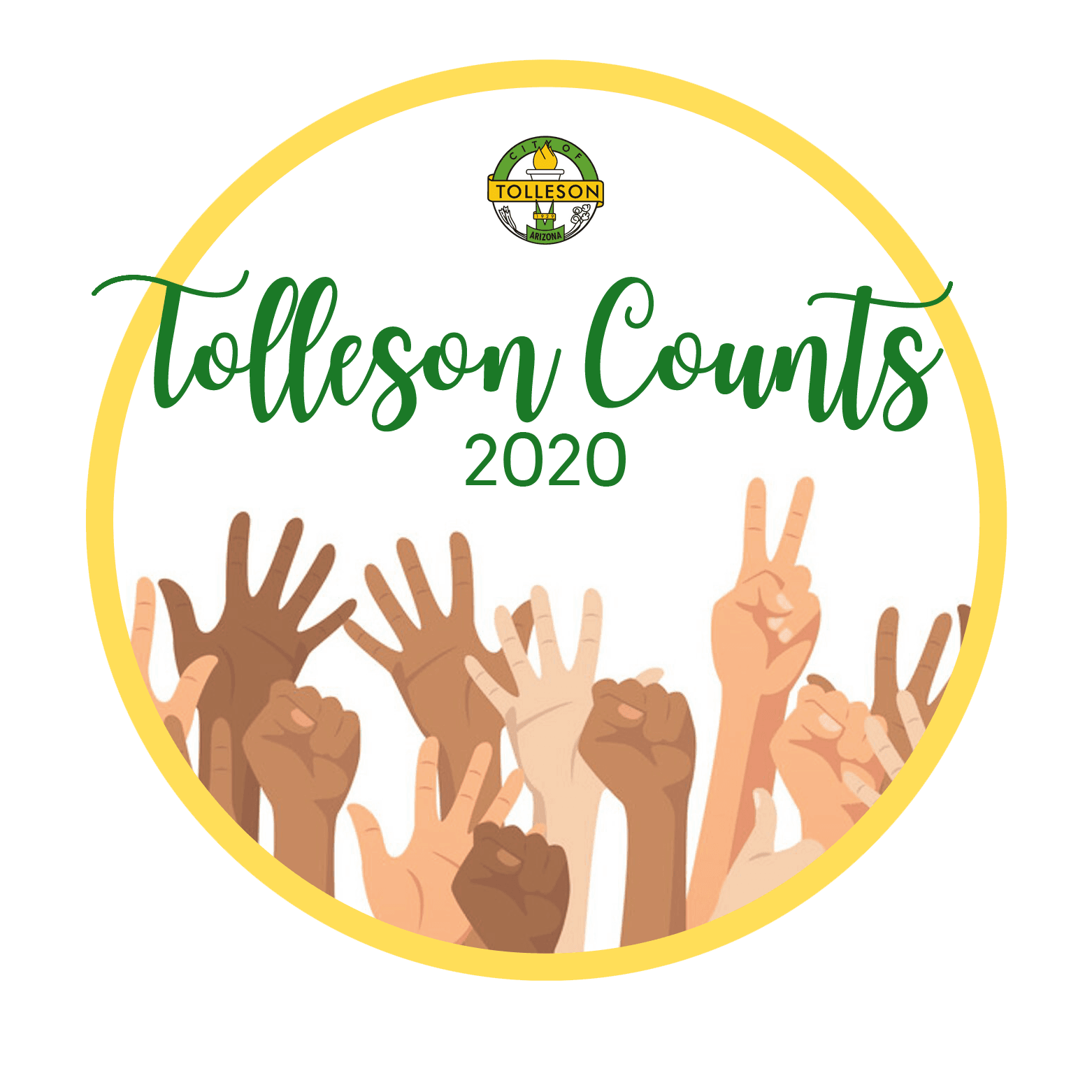 Tolleson Census logo