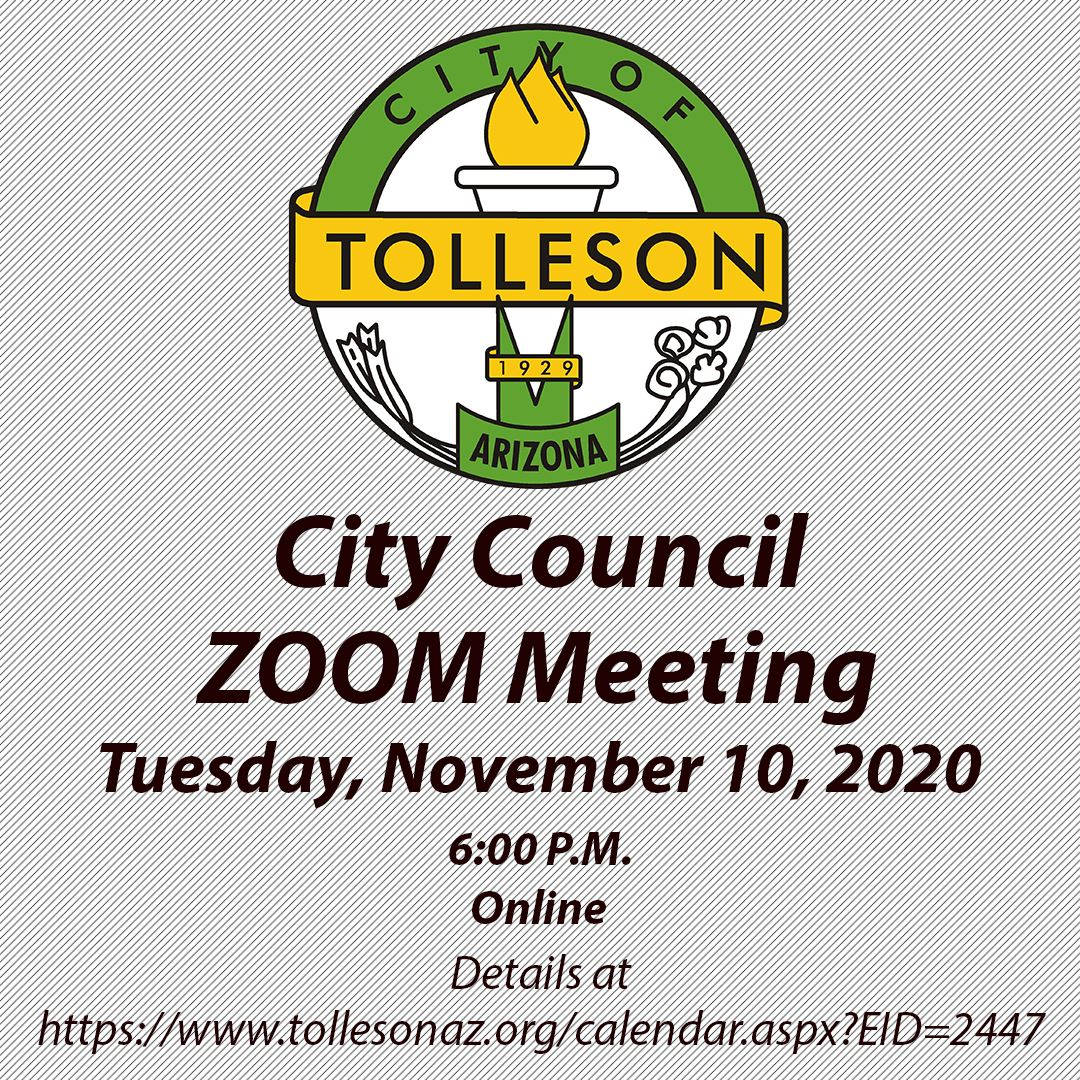 COT Council Zoom Meeting-11-10-2020
