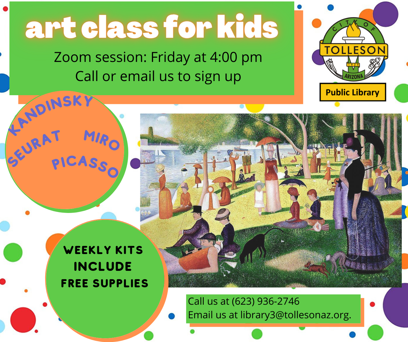art class for kids