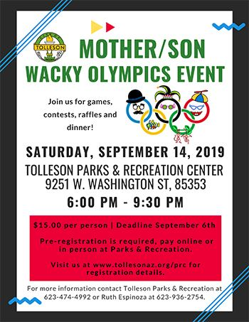 Mother Son Event Sept 2019 Opens in new window