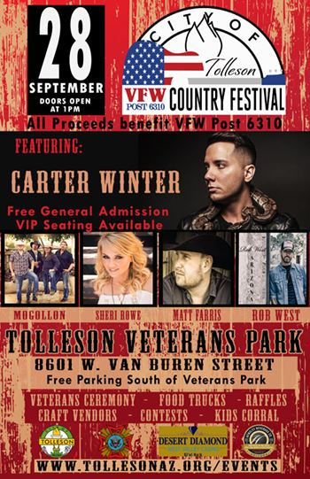 2019 VFW Country Festival thumb Opens in new window