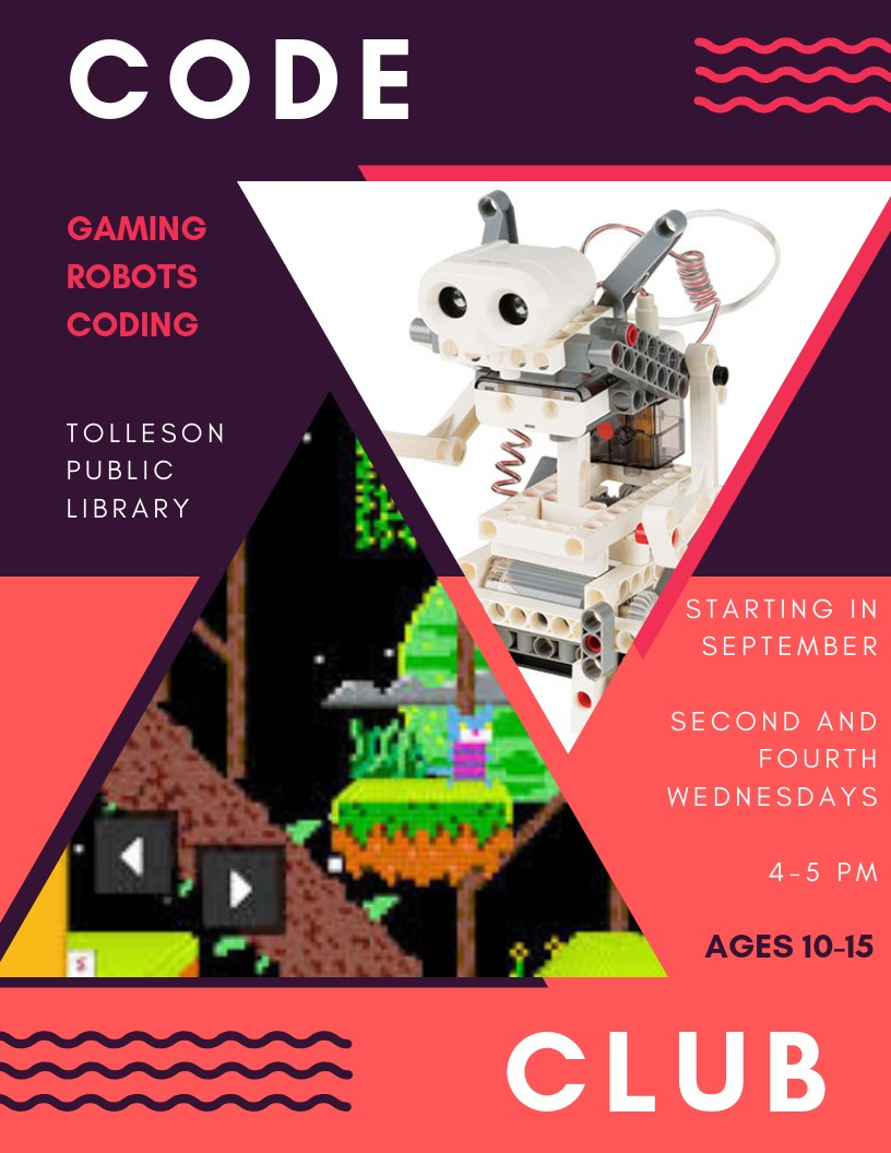 Code Club at the Tolleson City Library