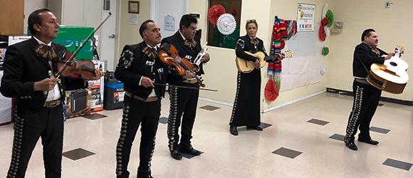 Fiestas Patrias at the Tolleson Cenior Center sponsored by Manhiem