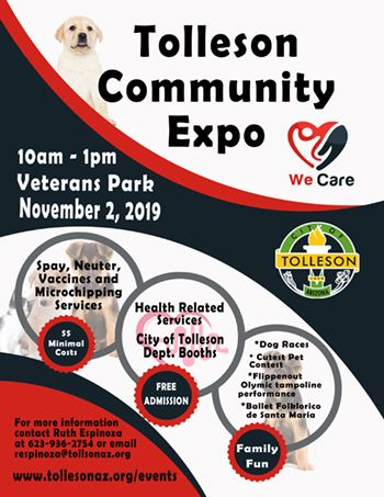 2019 Health Expo flyer