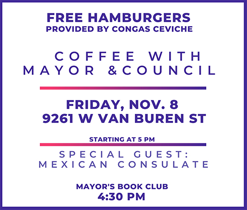 Coffee with Mayor and Council - Story Time