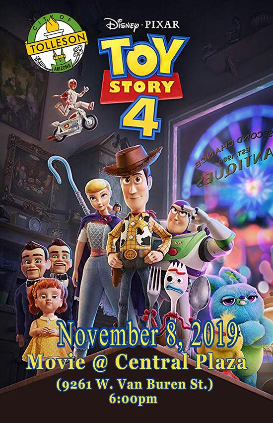 Movies at the Park - Toy Story 4 - November 2019