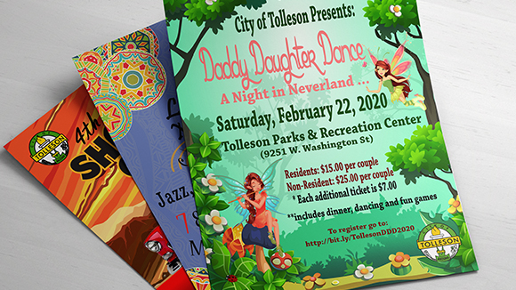 Tolleson Event Flyers