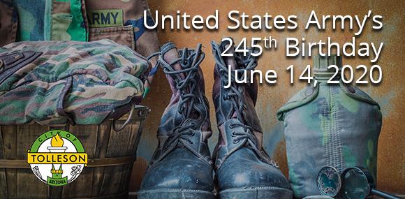 United  States  Army's  245th  Birthday
