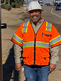 Mike Marquez, Traffic Operations Technician