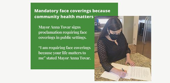 Manditory Face Coverings in Tolleson