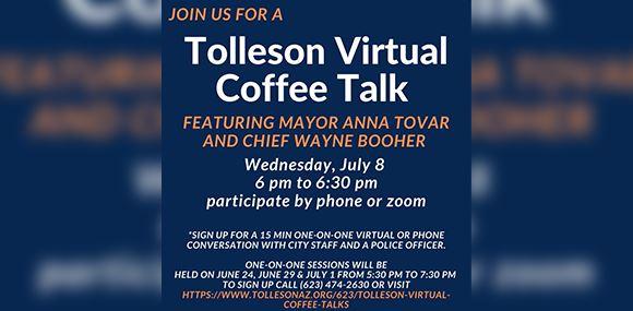 Tolleson Virtual Coffee Talk