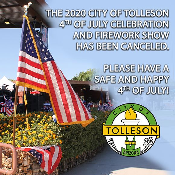 2020 Tolleson 4th of July Fireworks Canceled