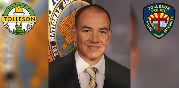 Tolleson Police Chief Rudy Mendoza