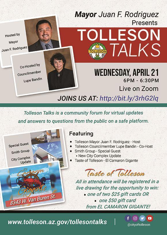 Tolleson Talks April 2021