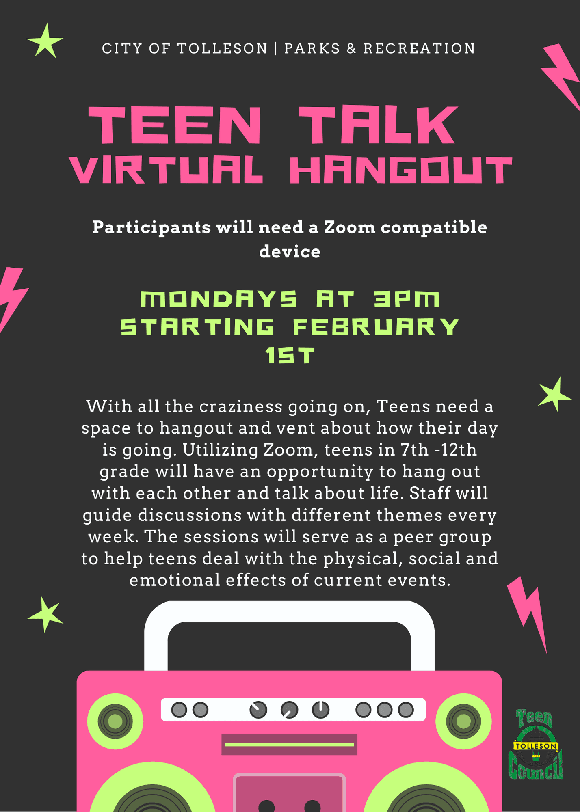 Teen Talk Virtual Hangout