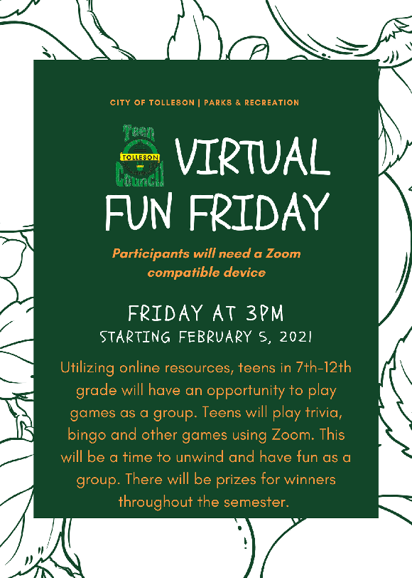 Virtual Fun Friday