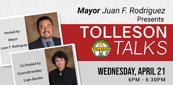 Tolleson Talks with Mayor Rodriguez