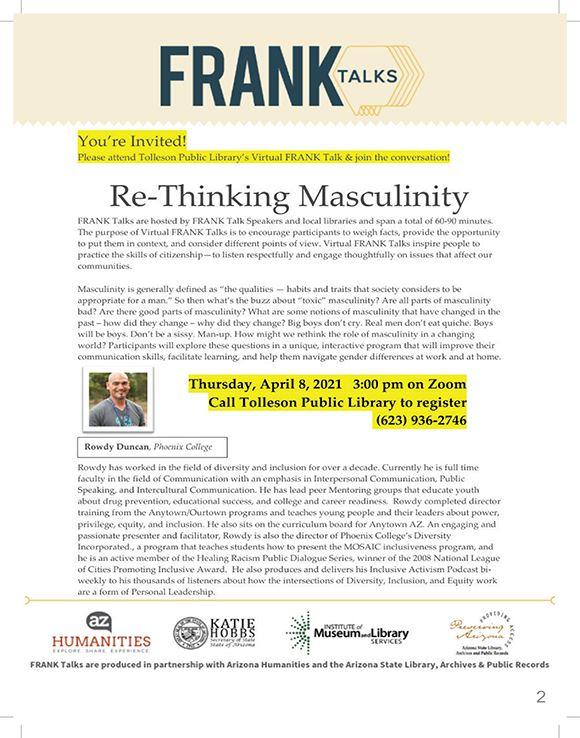 Frank Talks April 2021